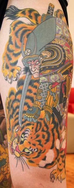 Nathan Puata - Japanese Tiger