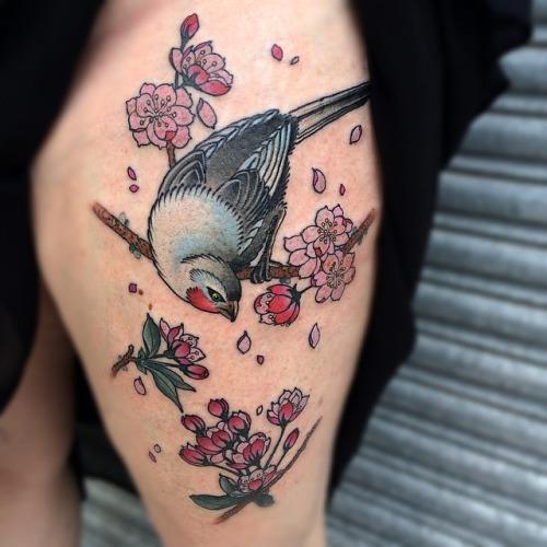 Garth-b-neale-bird-hip-cherry-blossoms