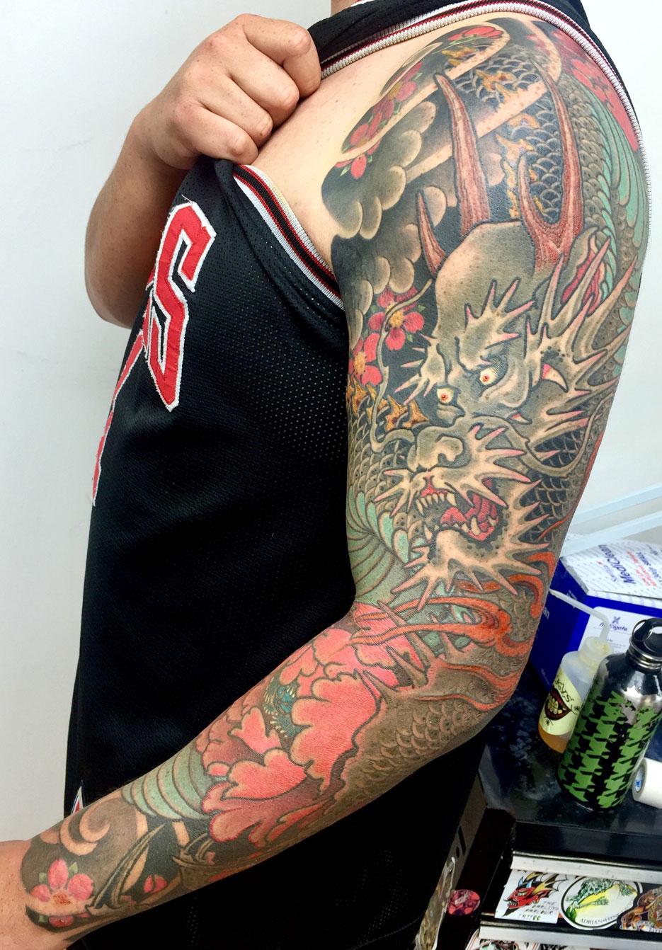 Alex Rusty - dragon sleeve