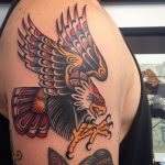 Awesome traditional eagle from @vic_james_ FOR BOOKINGS… w: lighthou