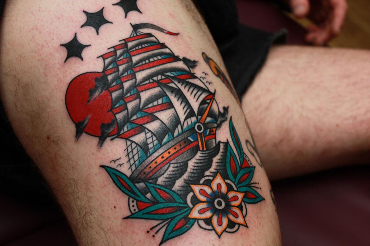 Vic James - old ship
