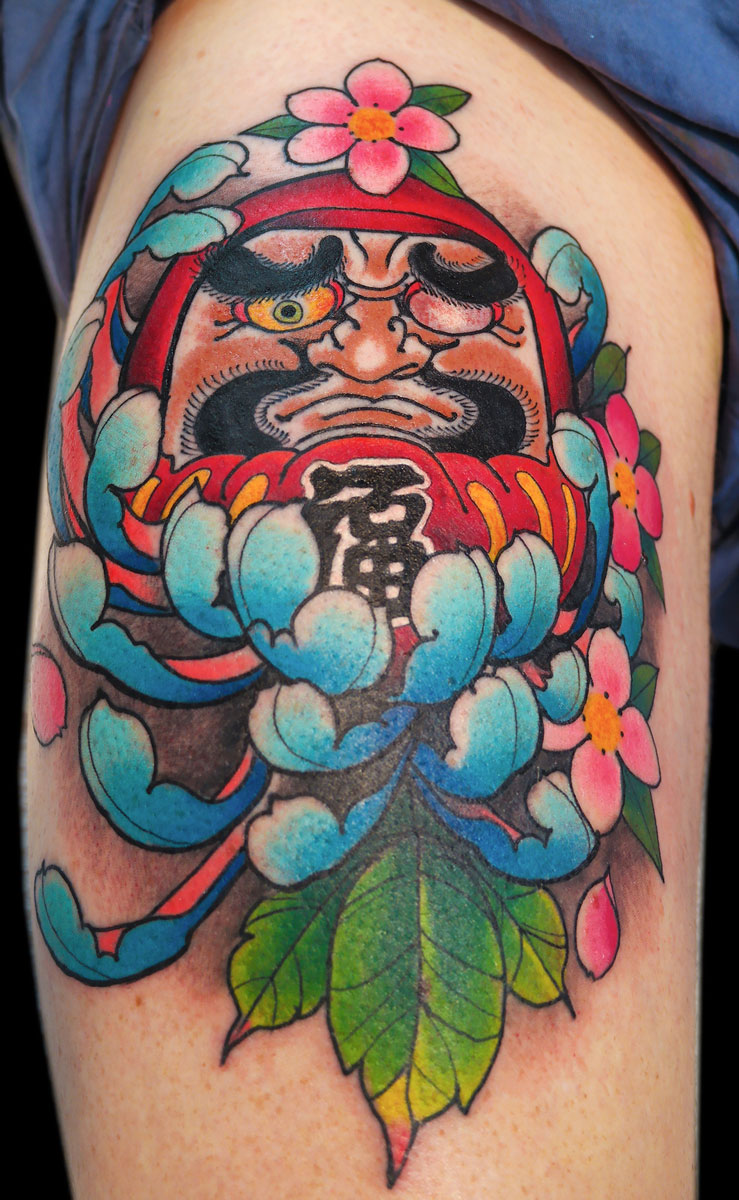 lauren-fox-japanese-tattoo-daruma-tattoo